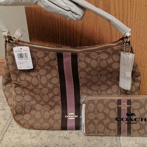 Coach Handbag with Wallet